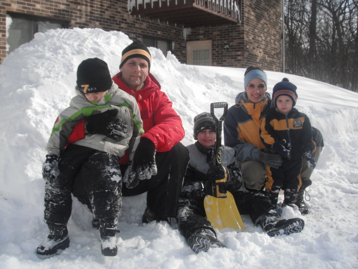 Fowlers in the Biggest Chicago Snow storm in 40 Years