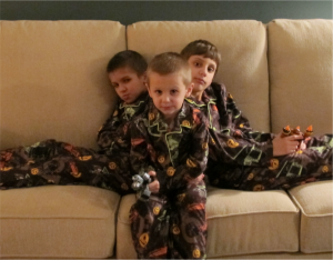 3boys in pjs