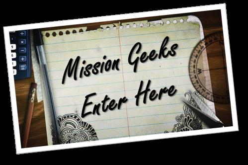 Mission Geeks Enter Here