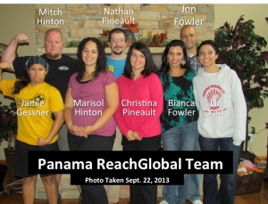 Panama ReachGlobal Team